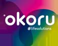 OKORU · Life solutions Logo